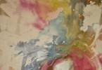 Éclosion à Kissi - acrylique sur toile 80 x 80 cm