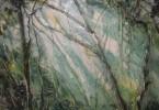 Vers Kissigoudou (Guinée) - huile sur toile 80 x 60 cm - collection privée