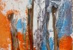 Marché d'Aboisso - Huile sur toile - 60x80cm