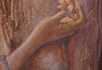 Symboles d'Afrique - huile sur toile 50 x 70 cm - collection privée